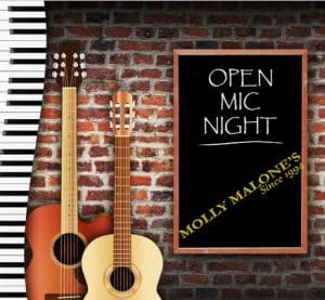 MONDAYS: Open Mic for Musicians, Hosted by Jasmin Wynants-Granfelt @ Molly Malones | Helsinki | Finland